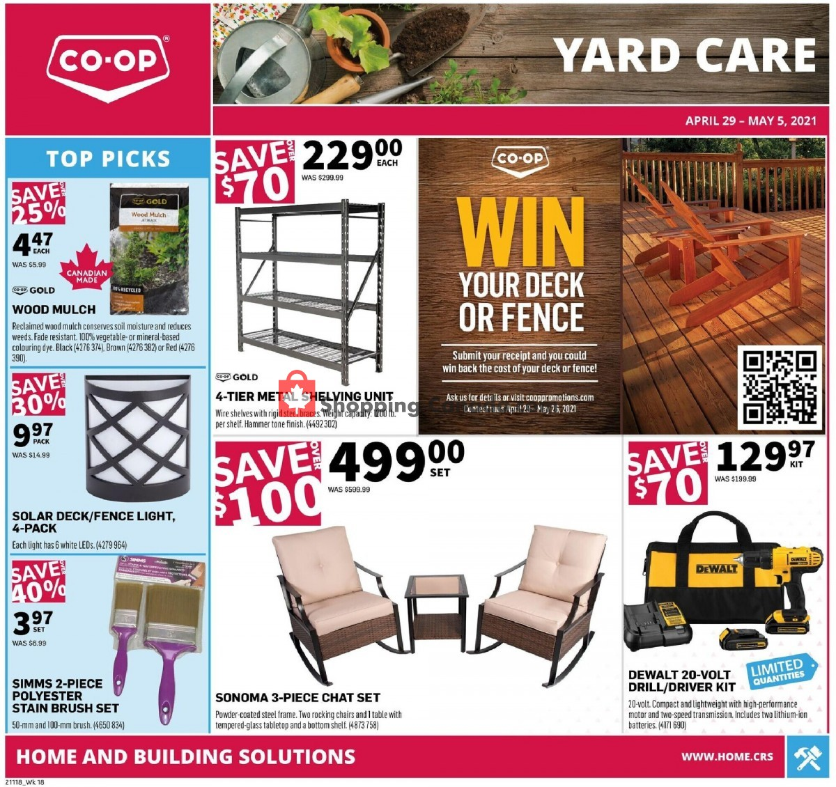 Flyer Co-op Canada - from Thursday April 29, 2021 to Wednesday May 5, 2021