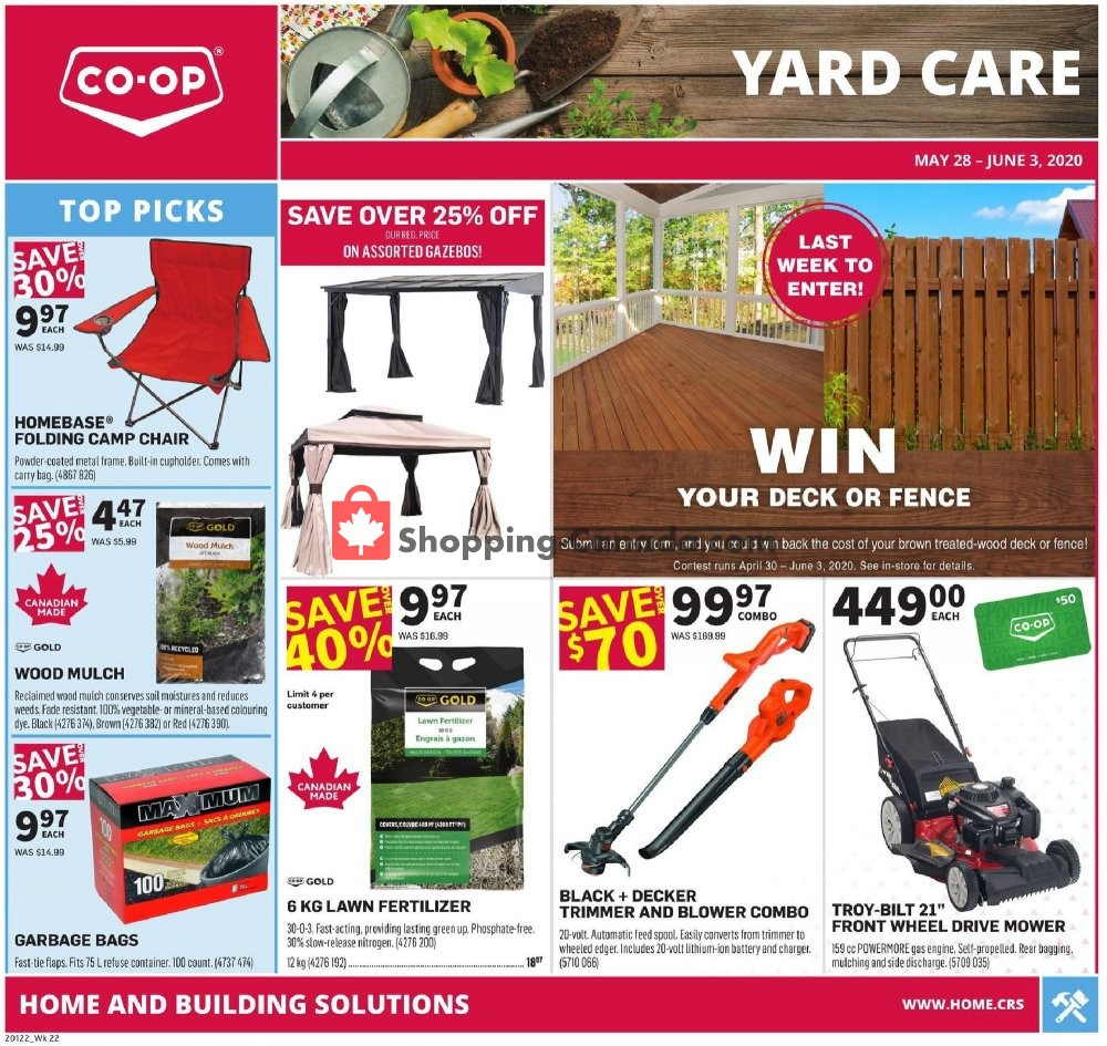 Flyer Co-op Canada - from Thursday May 28, 2020 to Wednesday June 3, 2020