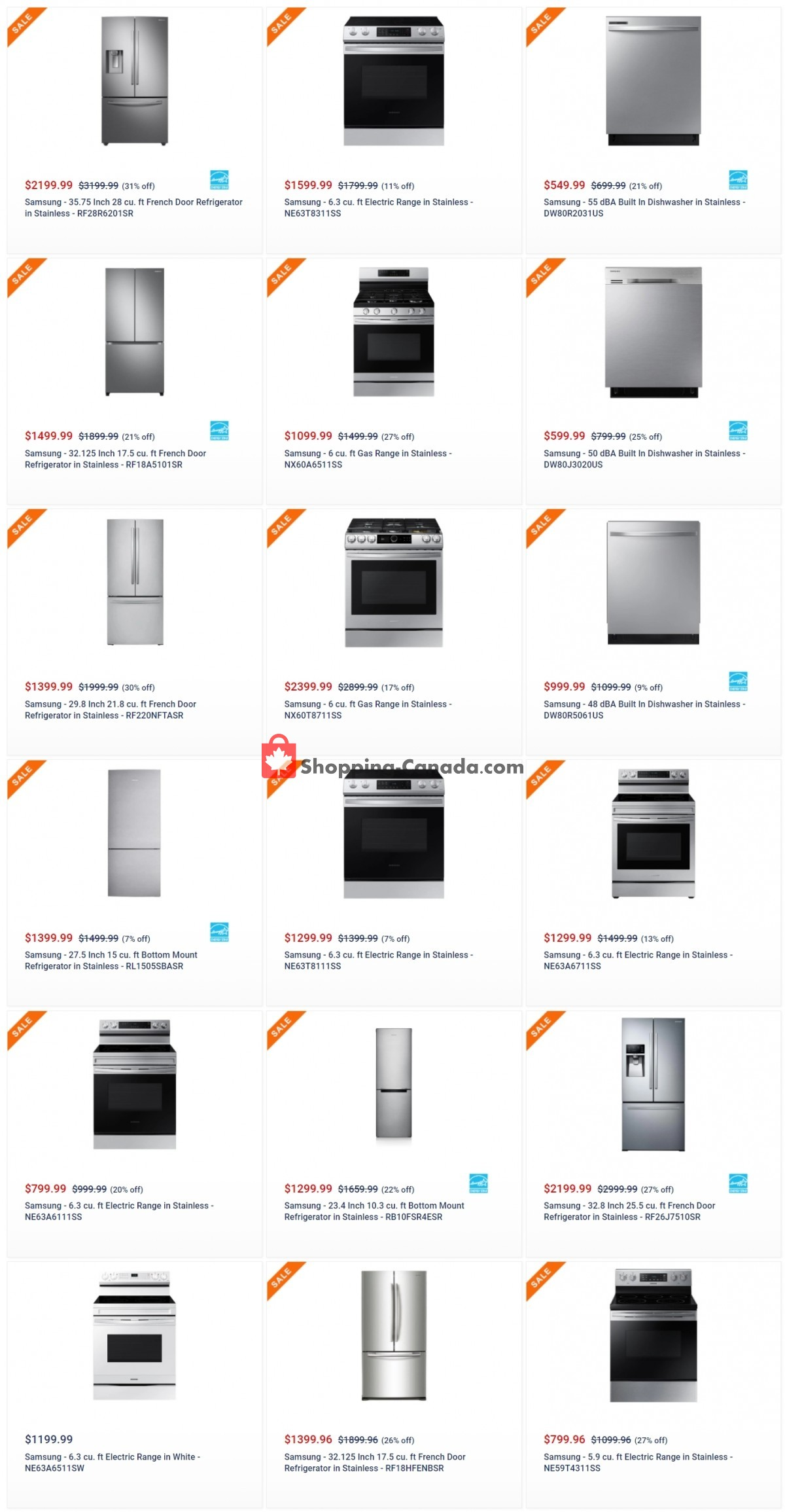 Flyer Coast Appliances Canada - from Thursday May 6, 2021 to Wednesday May 12, 2021