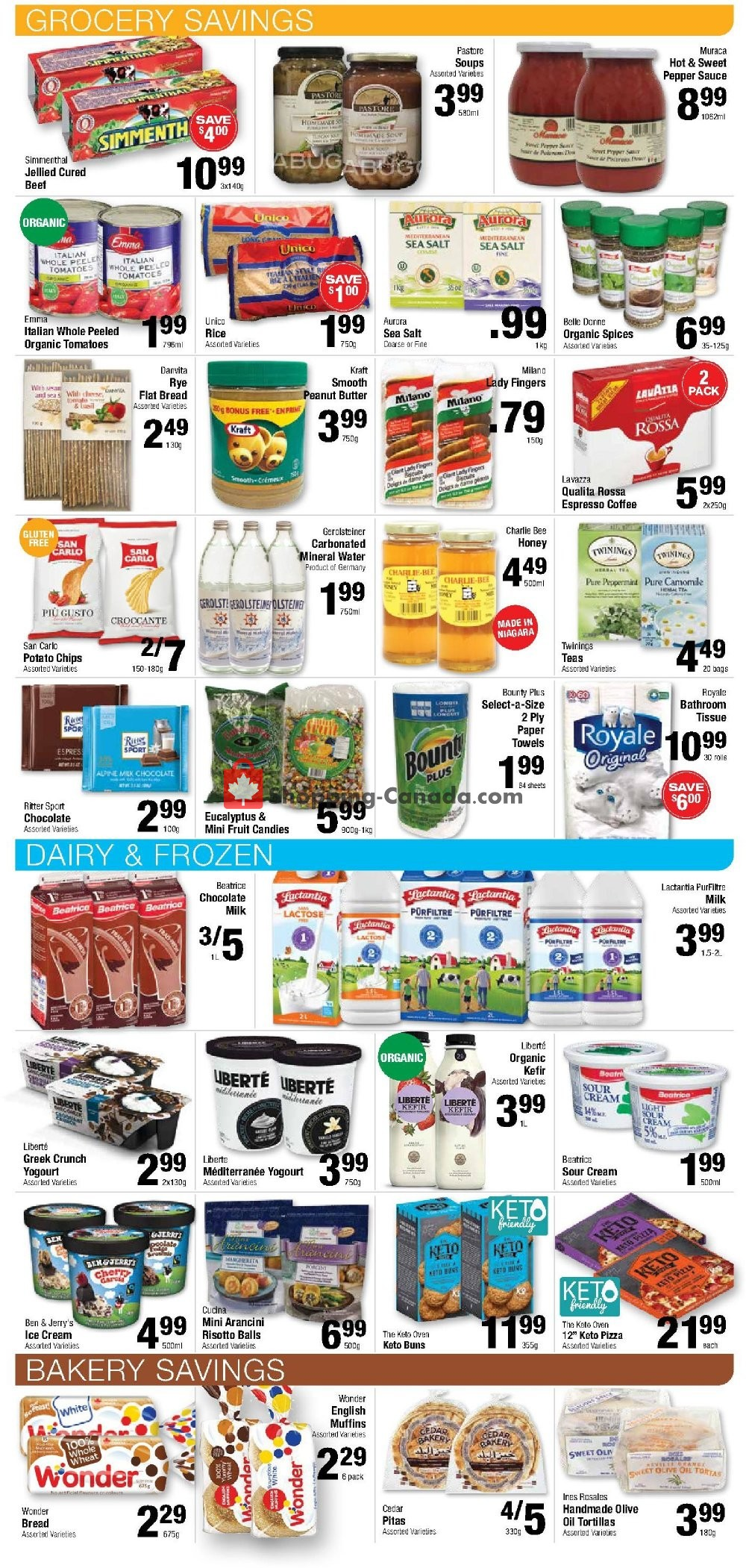 Flyer Commisso's Fresh Foods Canada - from Friday January 10, 2020 to Thursday January 16, 2020
