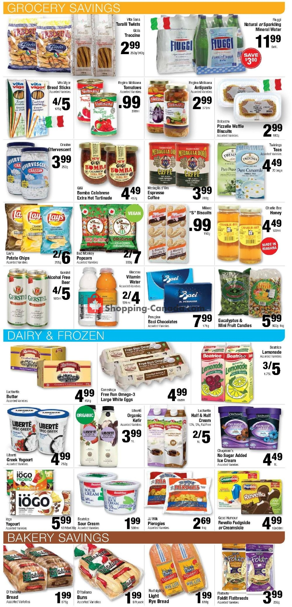 Flyer Commisso's Fresh Foods Canada - from Friday July 12, 2019 to Thursday July 18, 2019