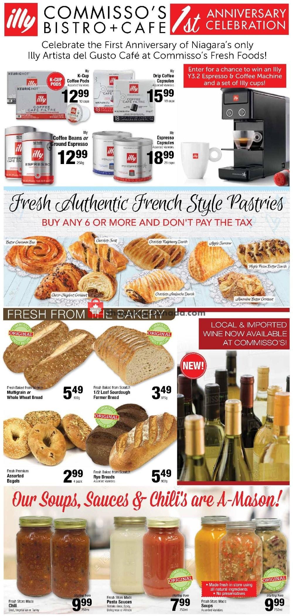 Flyer Commisso's Fresh Foods Canada - from Friday November 8, 2019 to Thursday November 14, 2019