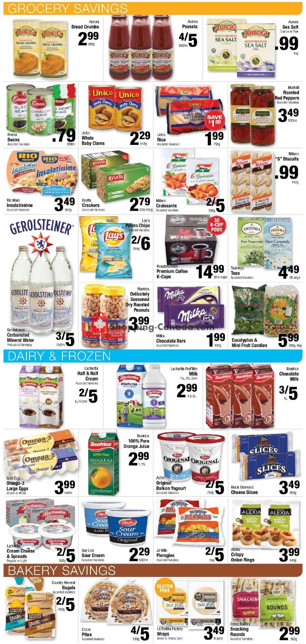 Flyer Commisso's Fresh Foods Canada - from Friday September 6, 2019 to Thursday September 12, 2019