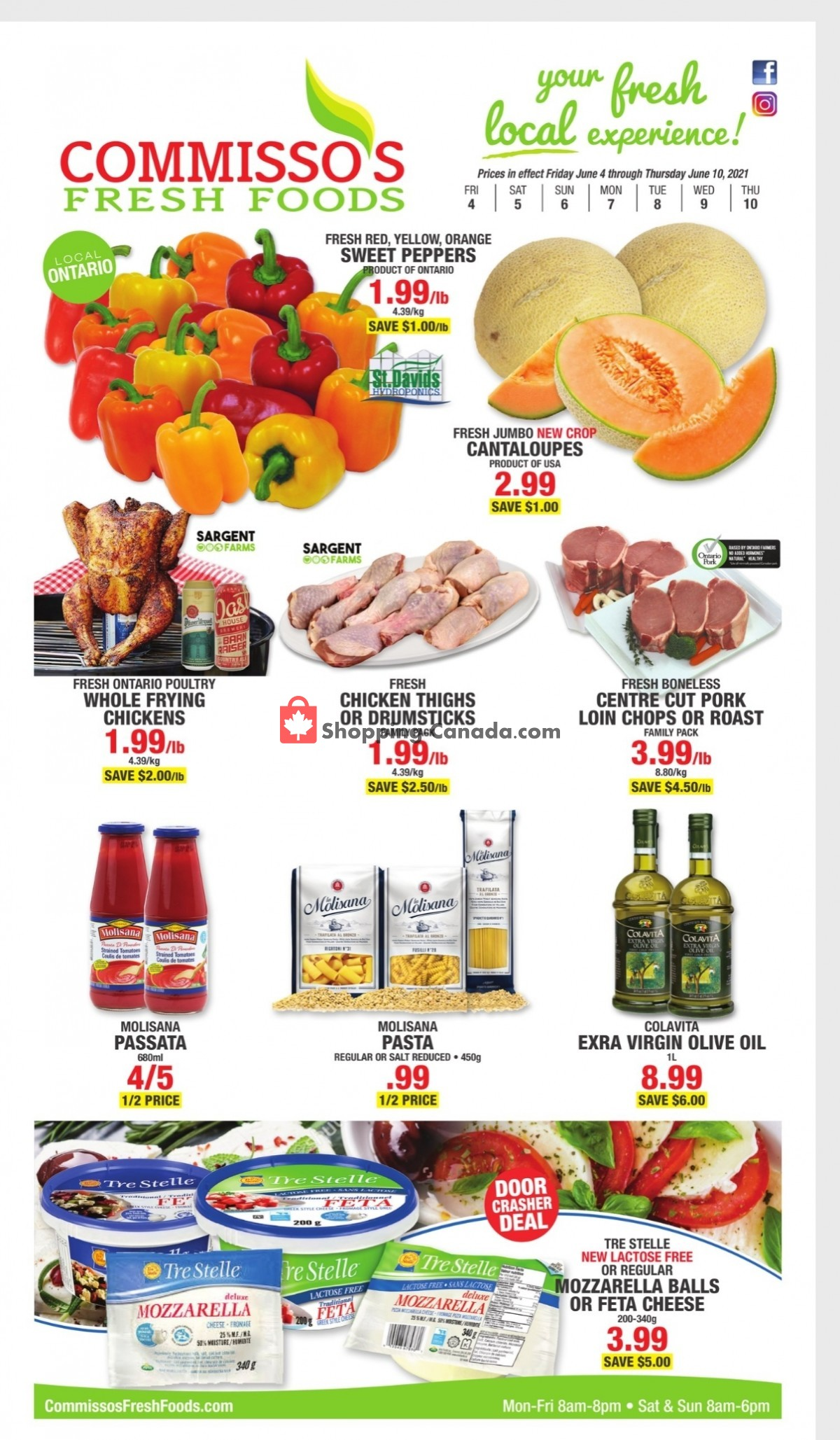 Flyer Commisso's Fresh Foods Canada - from Friday June 4, 2021 to Thursday June 10, 2021