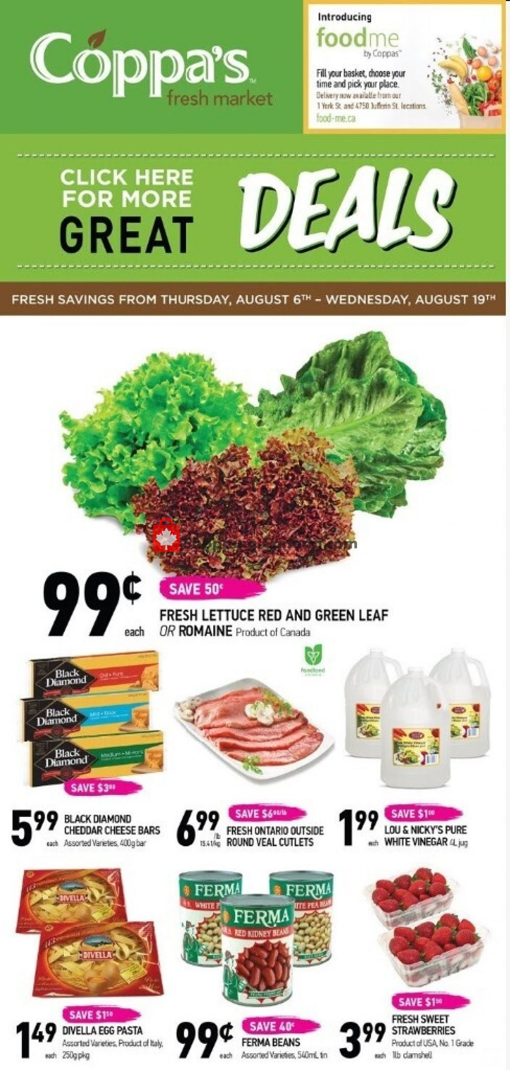 Flyer Coppa's Fresh Market Canada - from Thursday August 6, 2020 to Wednesday August 19, 2020