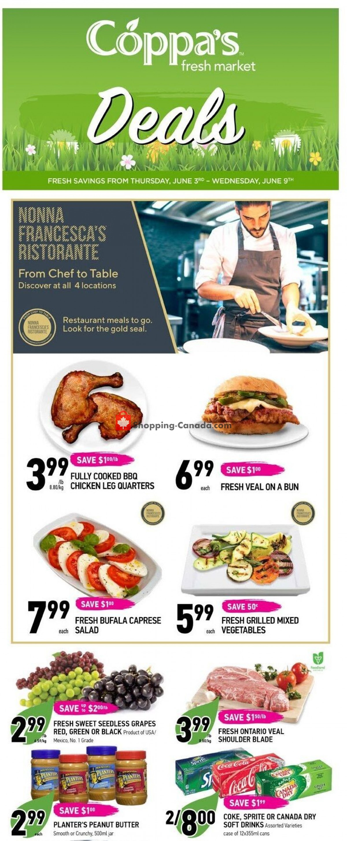 Flyer Coppa's Fresh Market Canada - from Thursday June 3, 2021 to Wednesday June 9, 2021