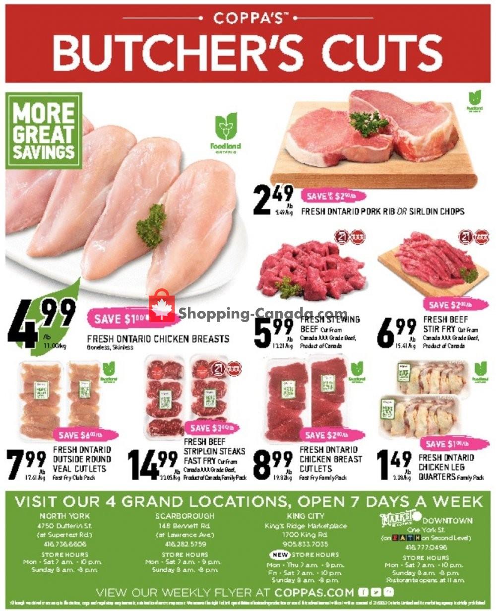 Flyer Coppa's Fresh Market Canada - from Thursday January 9, 2020 to Wednesday January 15, 2020