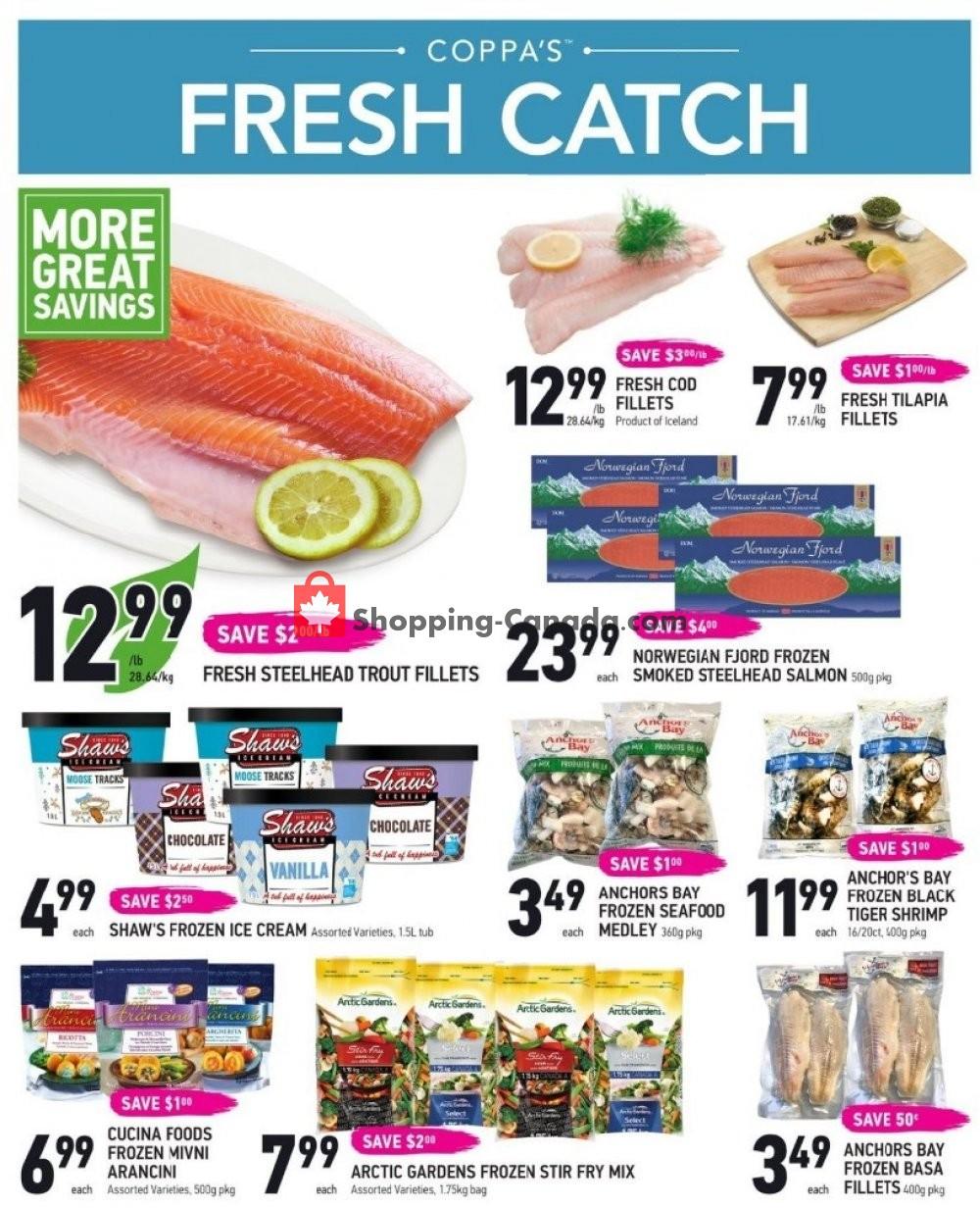 Flyer Coppa's Fresh Market Canada - from Thursday November 7, 2019 to Wednesday November 13, 2019