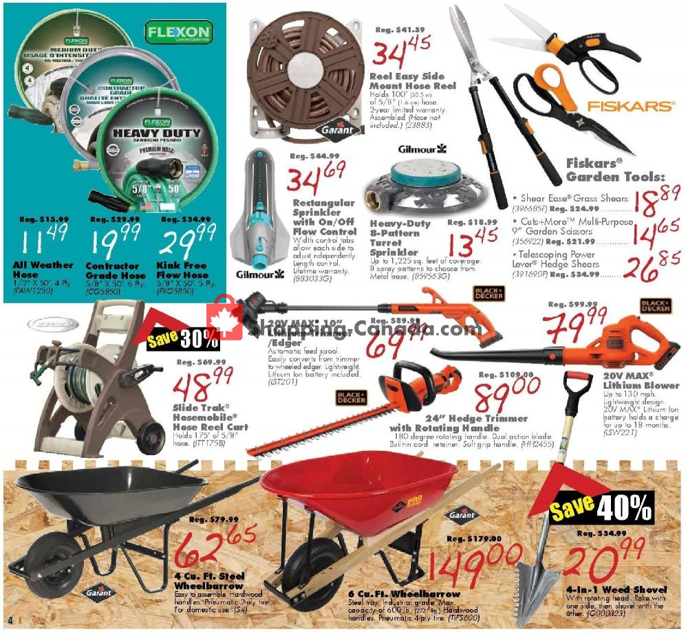 Flyer COPP's Buildall Canada - from Friday July 12, 2019 to Sunday July 21, 2019