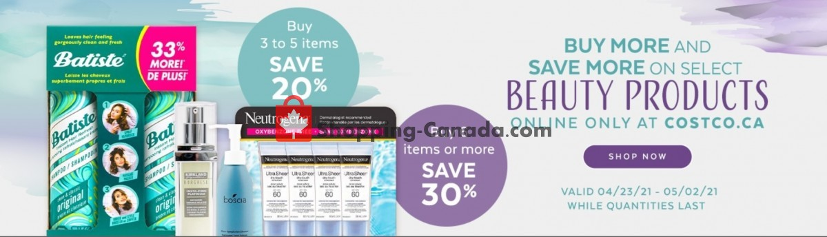 Flyer Costco Canada - from Friday April 23, 2021 to Sunday May 2, 2021