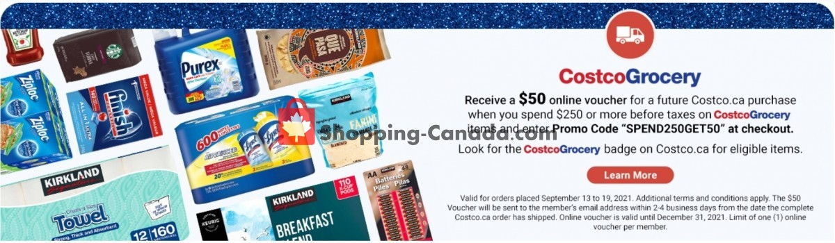 Flyer Costco Canada - from Monday September 13, 2021 to Sunday September 19, 2021