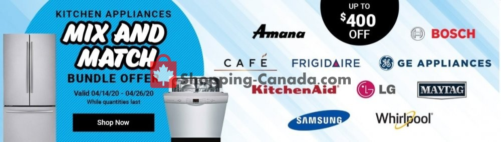 Flyer Costco Canada - from Tuesday April 14, 2020 to Sunday April 26, 2020