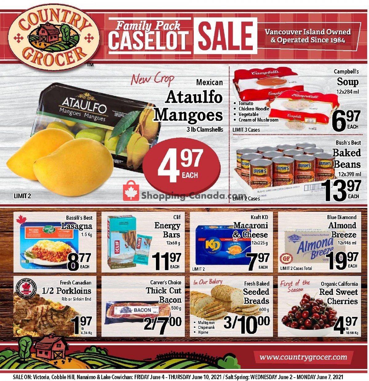 Flyer Country Grocer Canada - from Friday June 4, 2021 to Thursday June 10, 2021