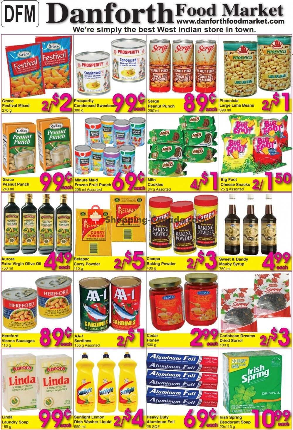 Flyer Danforth Food Market Canada - from Friday April 19, 2019 to Wednesday April 24, 2019
