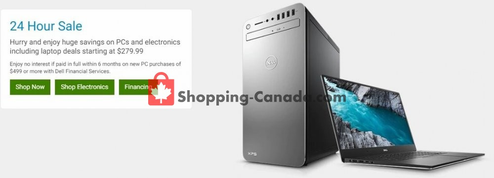Flyer Dell Canada - from Wednesday May 8, 2019 to Wednesday May 8, 2019