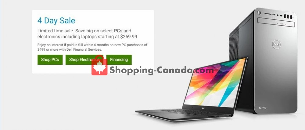 Flyer Dell Canada - from Tuesday March 12, 2019 to Friday March 15, 2019