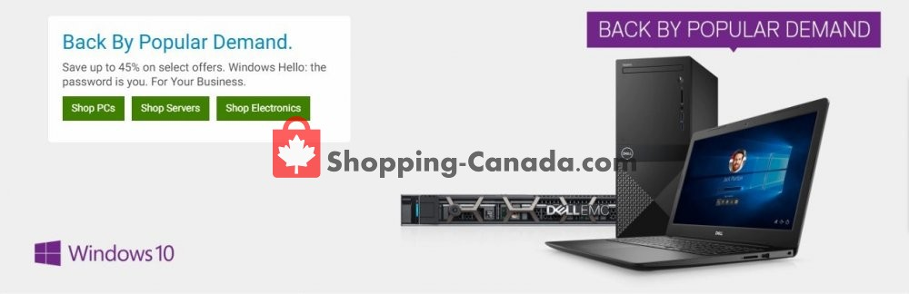 Flyer Dell Canada - from Friday April 12, 2019 to Thursday April 18, 2019