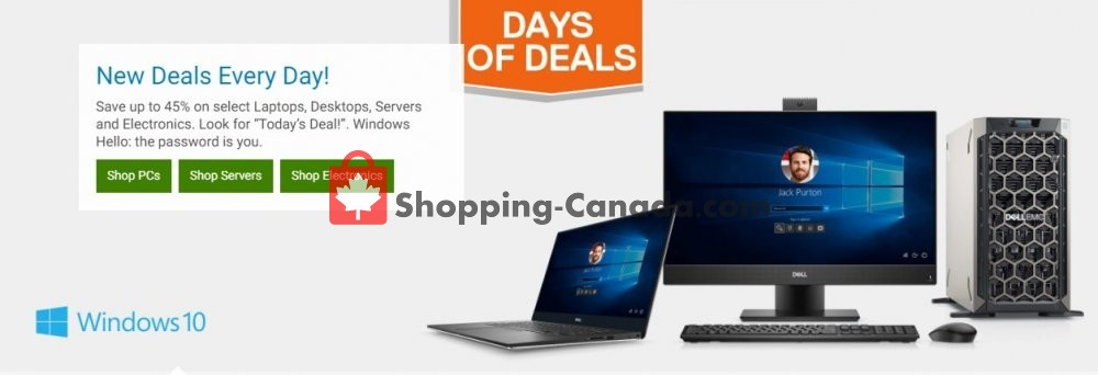 Flyer Dell Canada - from Wednesday October 2, 2019 to Tuesday October 8, 2019