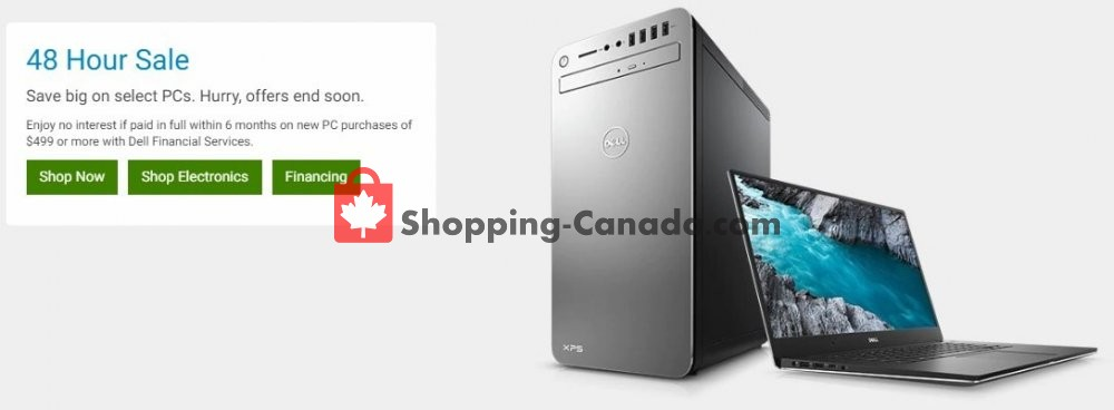 Flyer Dell Canada - from Monday June 24, 2019 to Tuesday June 25, 2019