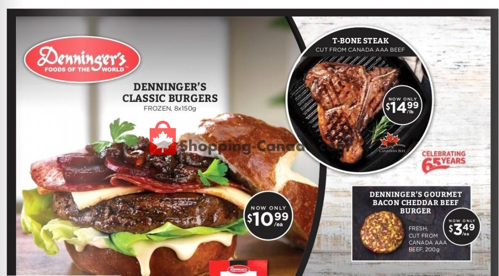 Flyer Denninger's Canada - from Wednesday July 10, 2019 to Wednesday August 7, 2019