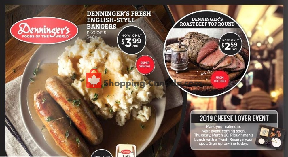 Flyer Denninger's Canada - from Wednesday March 13, 2019 to Tuesday April 2, 2019