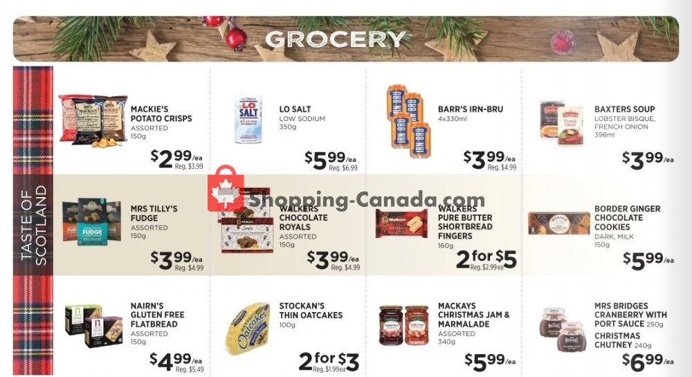 Flyer Denninger's Canada - from Wednesday November 13, 2019 to Tuesday December 3, 2019