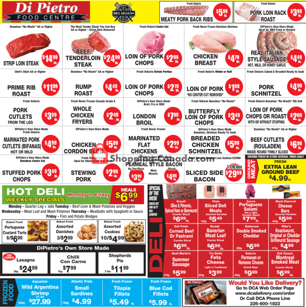 Flyer DiPietro's Canada - from Thursday July 2, 2020 to Wednesday July 8, 2020