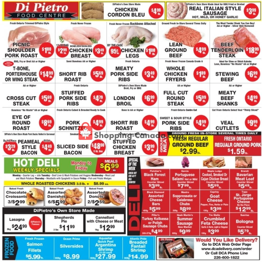 Flyer DiPietro's Canada - from Thursday April 30, 2020 to Wednesday May 6, 2020
