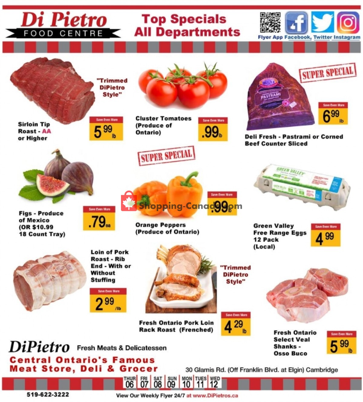 Flyer DiPietro's Canada - from Thursday May 6, 2021 to Wednesday May 12, 2021