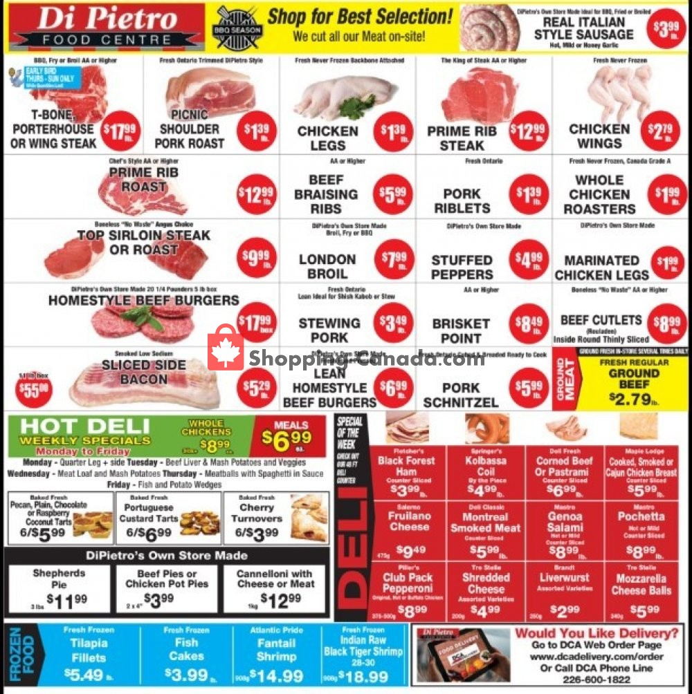 Flyer DiPietro's Canada - from Thursday May 28, 2020 to Wednesday June 3, 2020