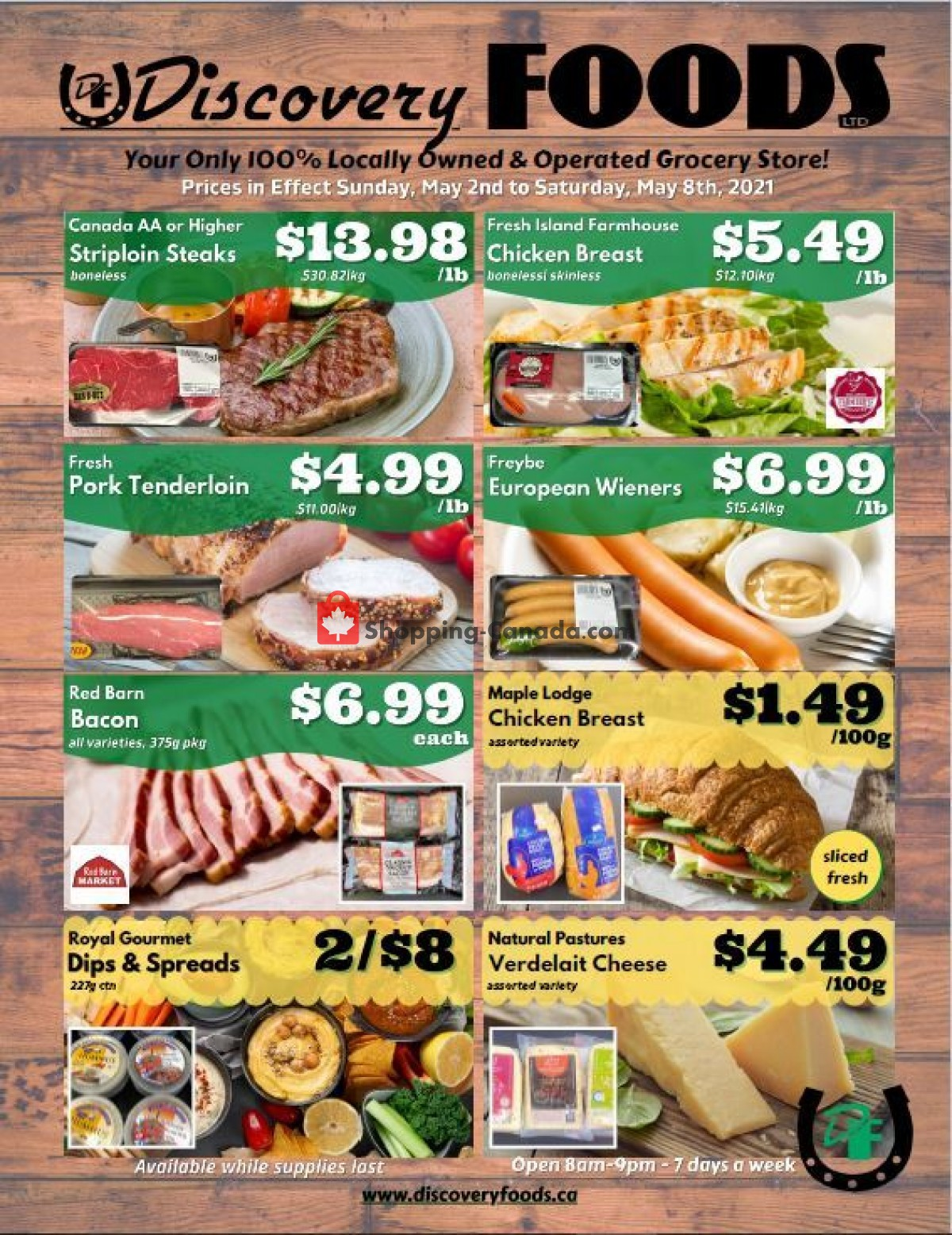 Flyer Discovery Foods Canada - from Sunday May 2, 2021 to Saturday May 8, 2021