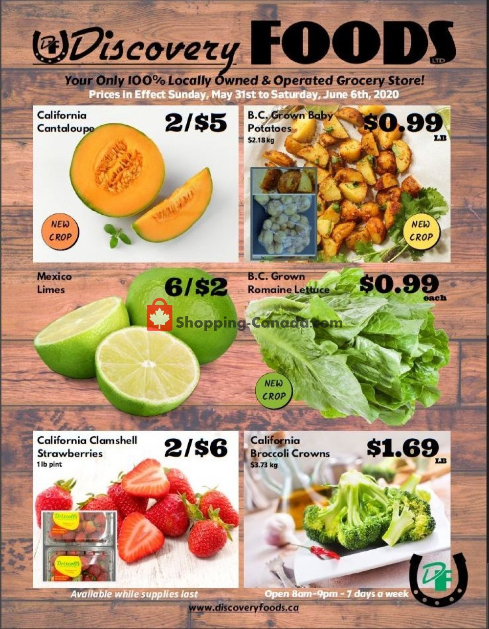 Flyer Discovery Foods Canada - from Sunday May 31, 2020 to Saturday June 6, 2020