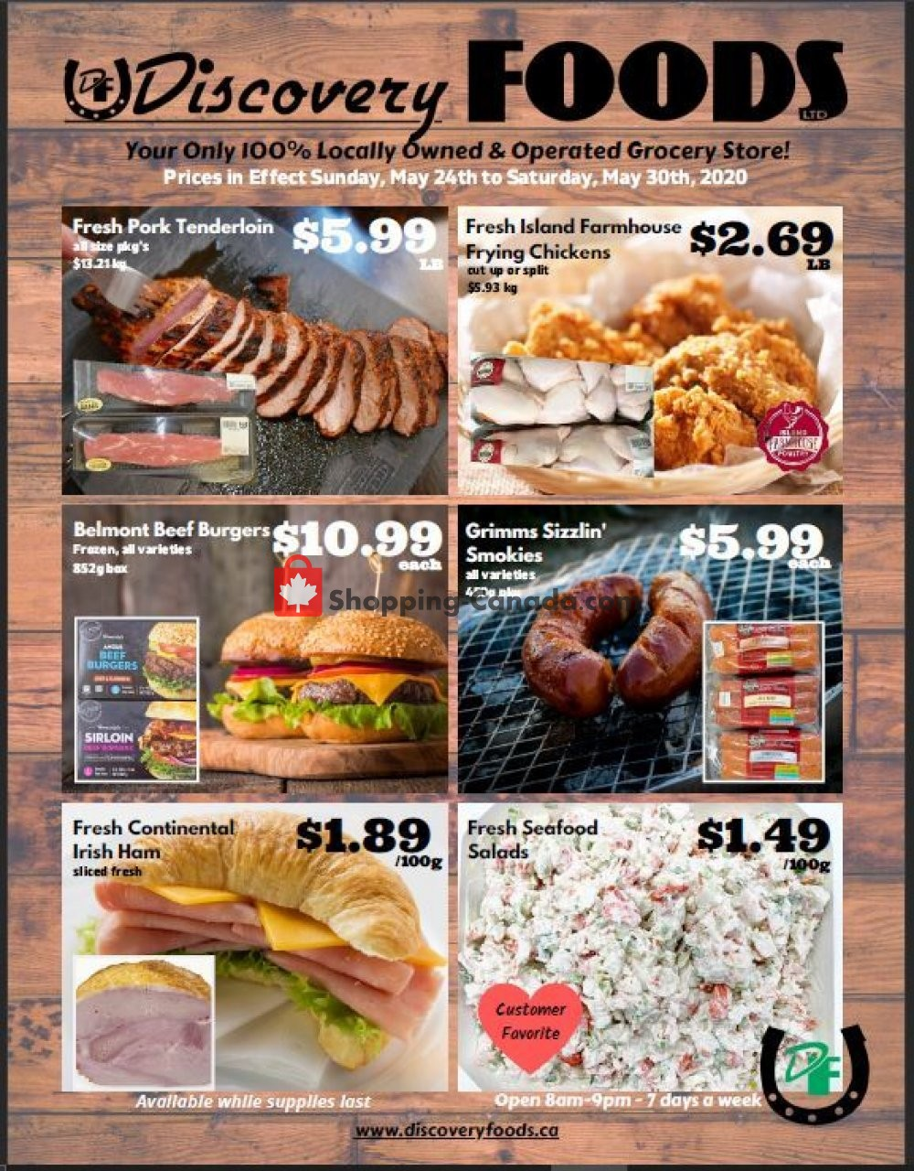 Flyer Discovery Foods Canada - from Sunday May 24, 2020 to Saturday May 30, 2020