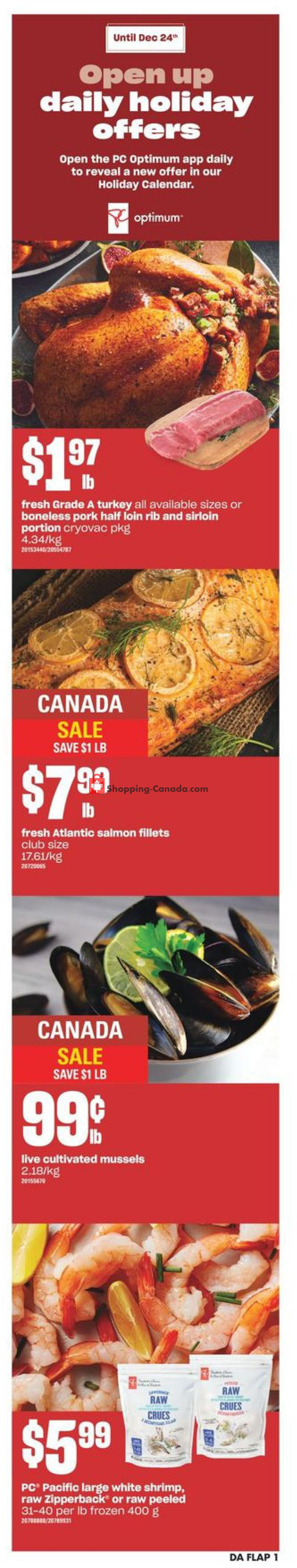 Flyer Dominion Canada - from Thursday December 17, 2020 to Saturday December 26, 2020