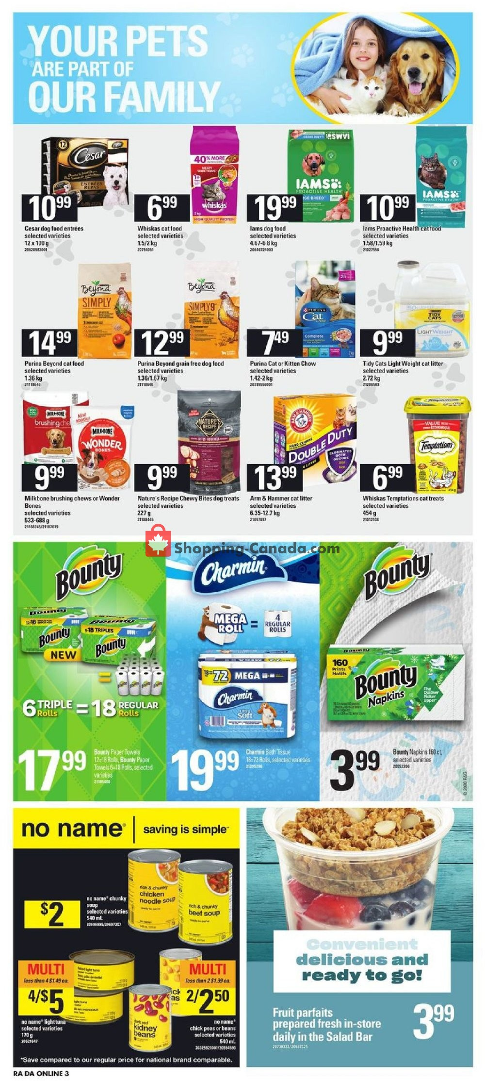 Flyer Dominion Canada - from Thursday January 16, 2020 to Wednesday January 22, 2020
