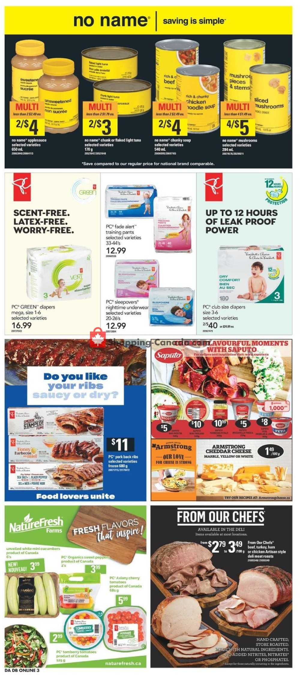 Flyer Dominion Canada - from Thursday July 11, 2019 to Wednesday July 17, 2019