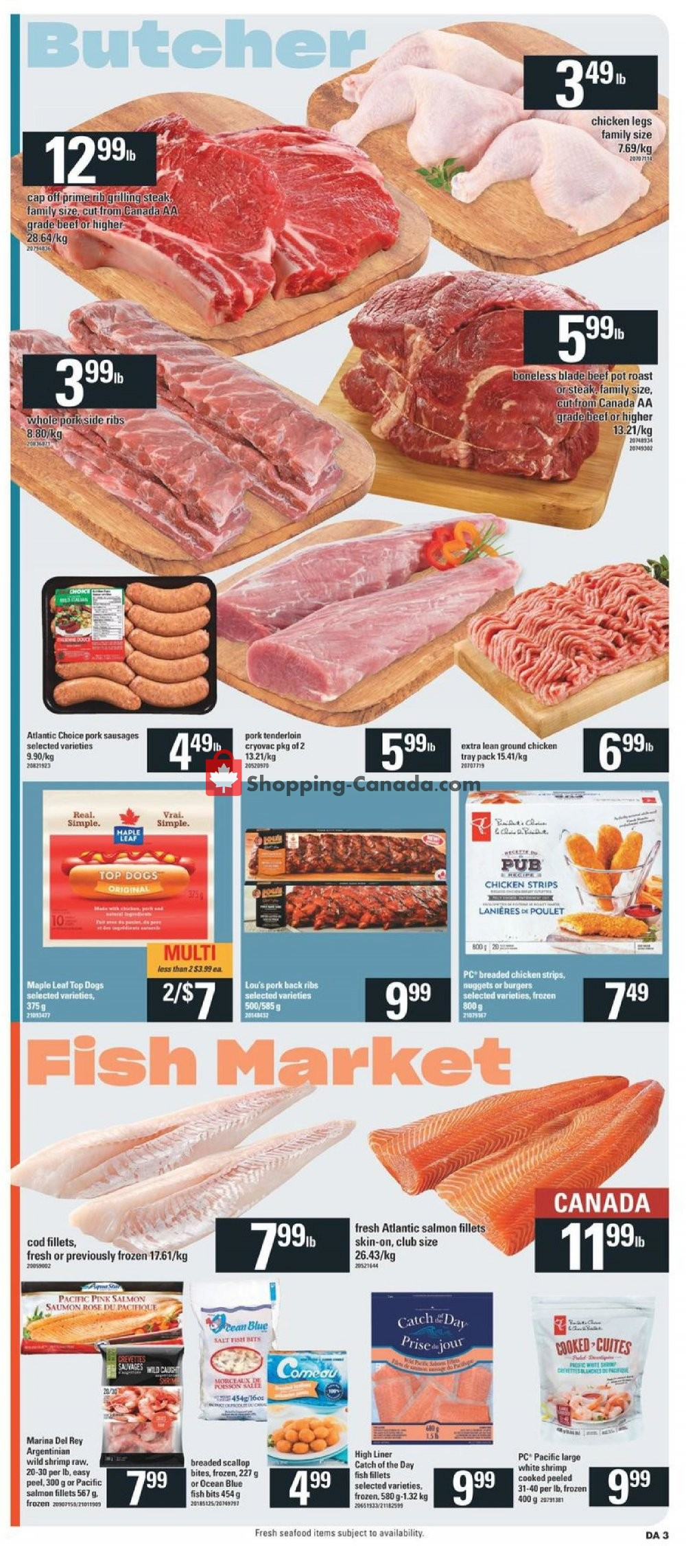 Flyer Dominion Canada - from Thursday July 25, 2019 to Wednesday July 31, 2019