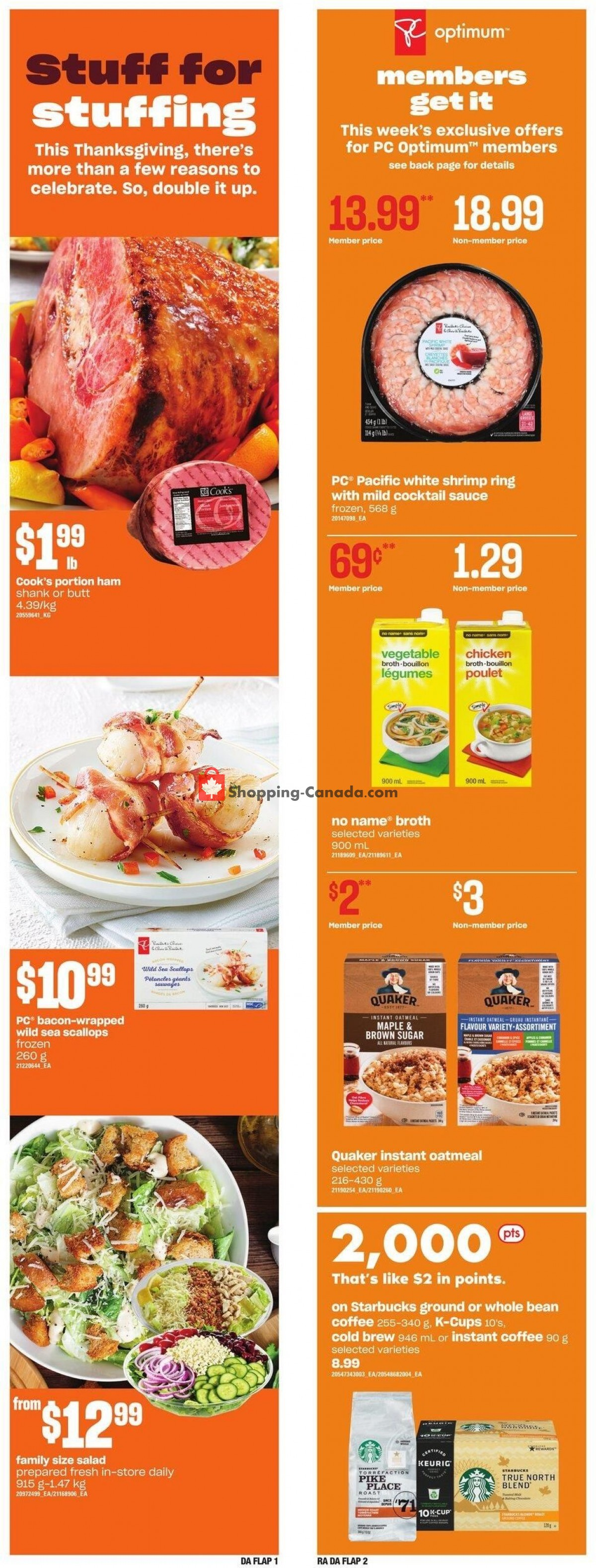 Flyer Dominion Canada - from Thursday October 7, 2021 to Wednesday October 13, 2021