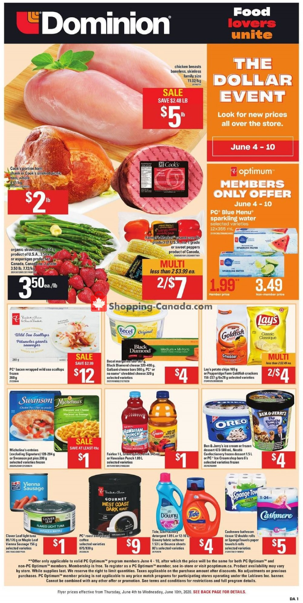 Flyer Dominion Canada - from Thursday June 4, 2020 to Wednesday June 10, 2020