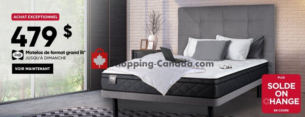 Flyer Dormez-vous? Canada - from Wednesday May 8, 2019 to Sunday May 12, 2019