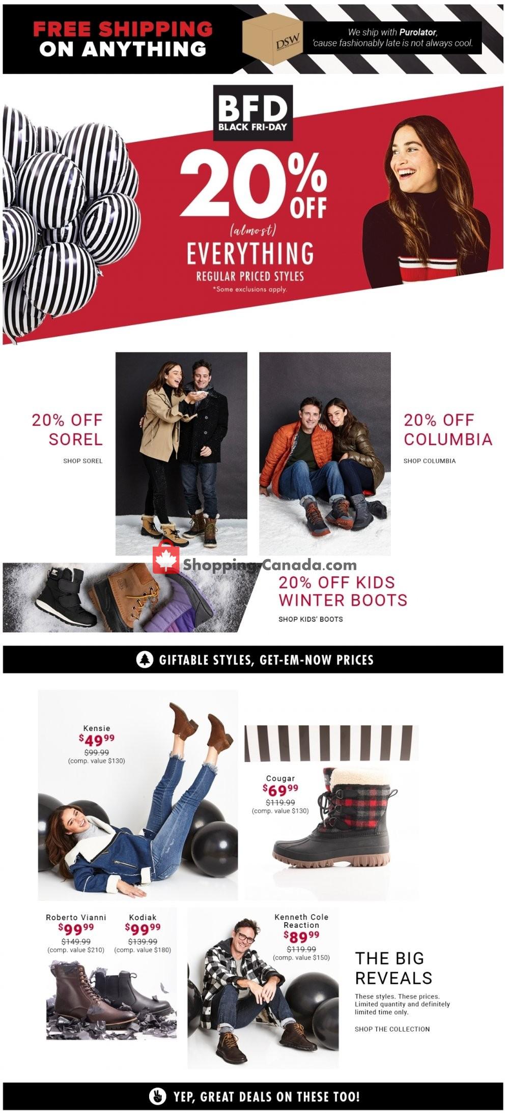 DSW Designer Shoe Warehouse Canada