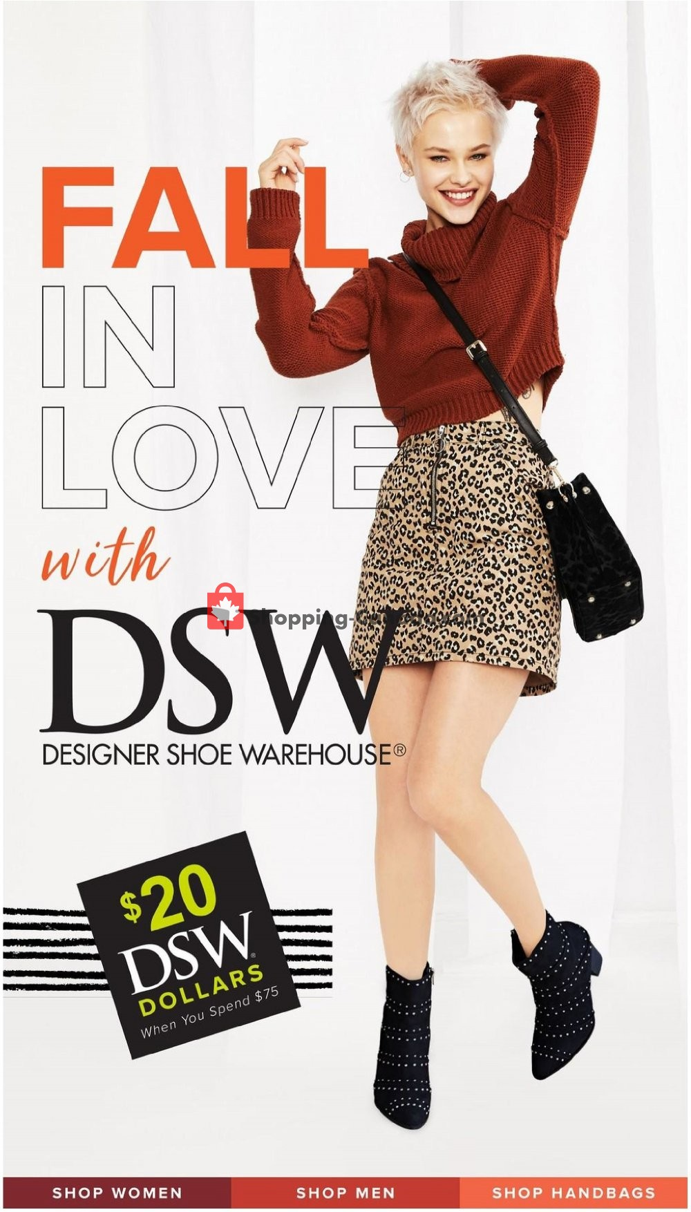 Flyer DSW Designer Shoe Warehouse Canada - from Thursday September 13, 2018 to Sunday September 30, 2018