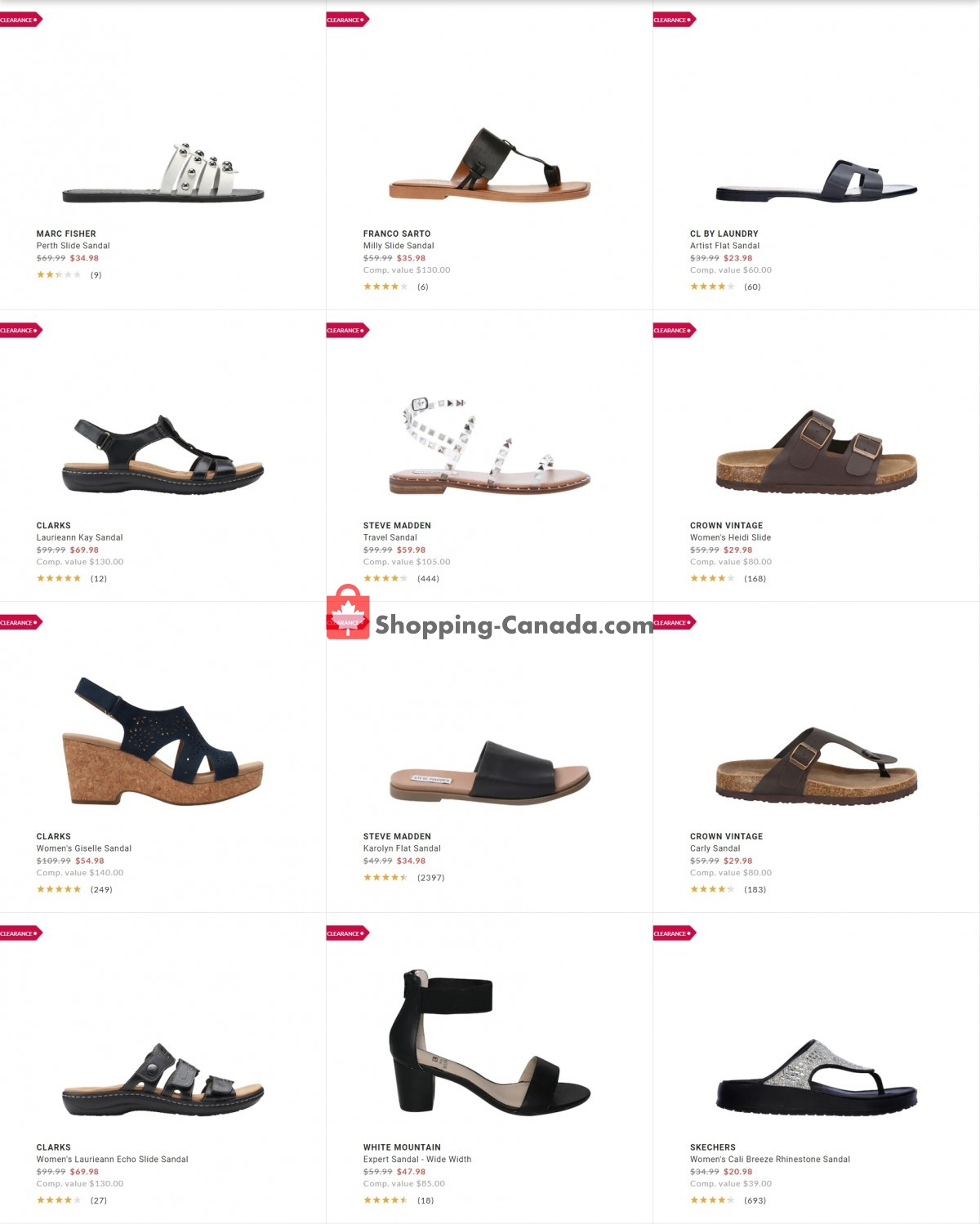 Flyer DSW Designer Shoe Warehouse Canada - from Tuesday July 13, 2021 to Monday July 19, 2021