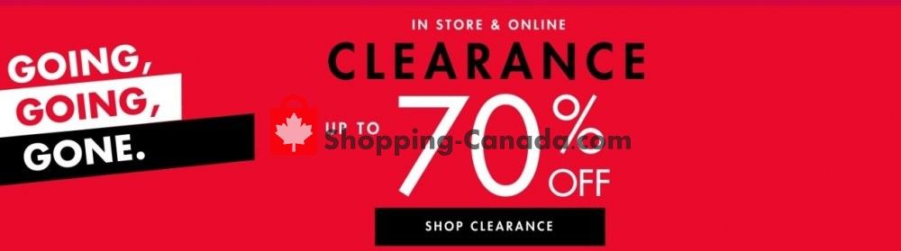 Flyer DSW Designer Shoe Warehouse Canada - from Wednesday January 29, 2020 to Tuesday February 4, 2020