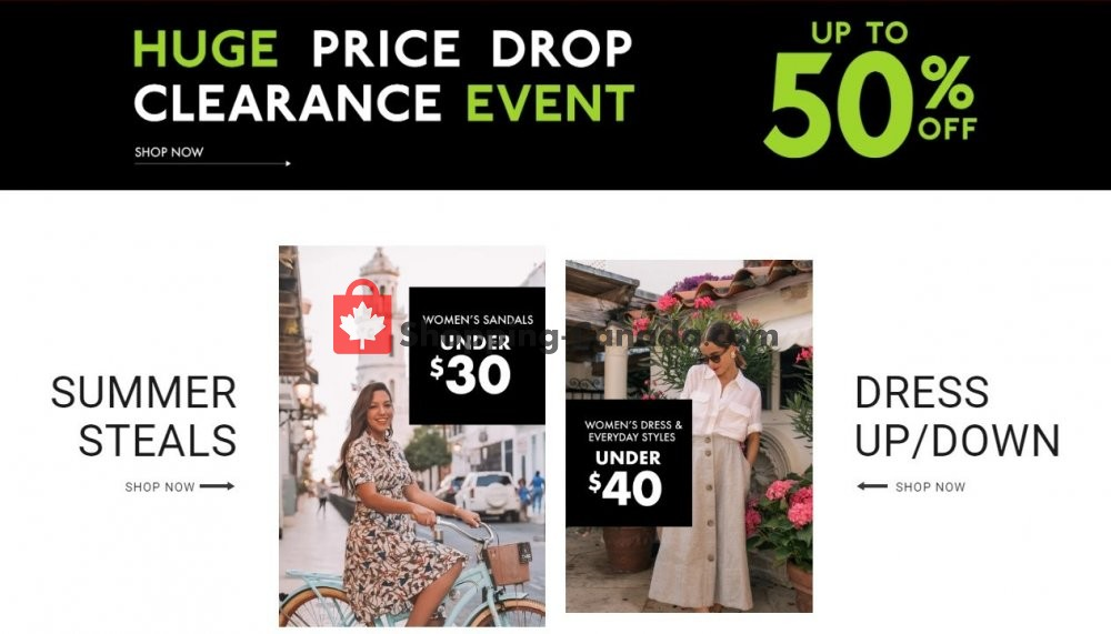 Flyer DSW Designer Shoe Warehouse Canada - from Saturday August 3, 2019 to Friday August 9, 2019