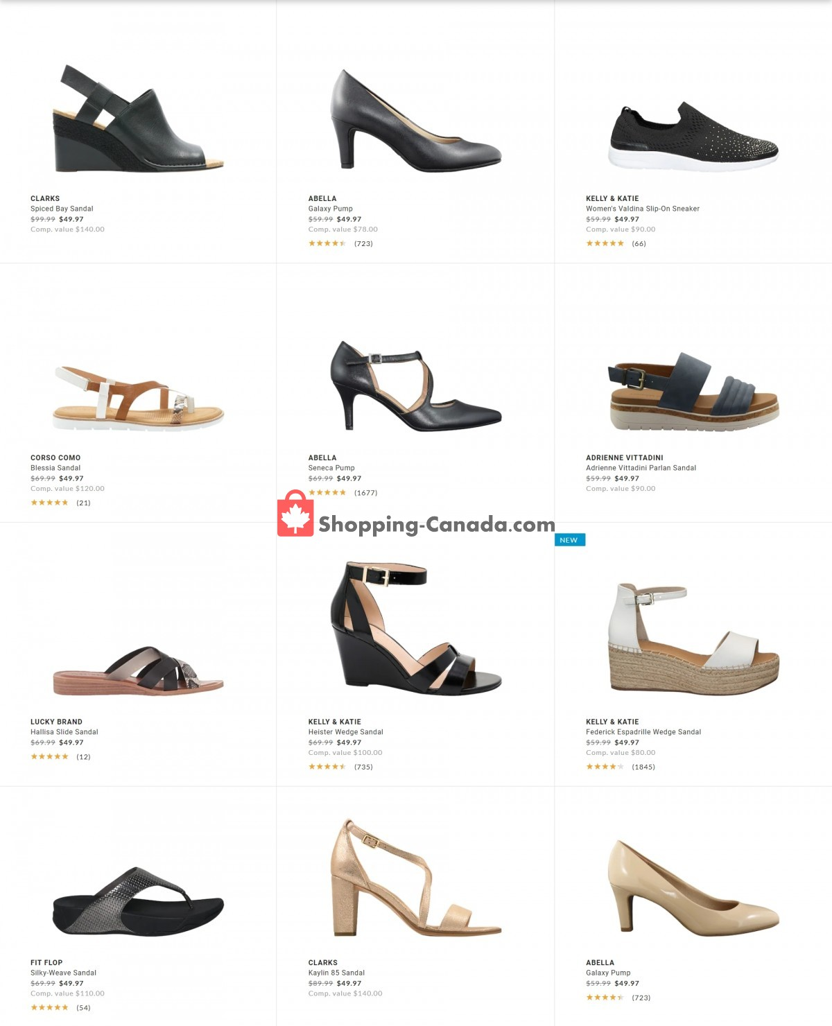 Flyer DSW Designer Shoe Warehouse Canada - from Tuesday April 27, 2021 to Tuesday May 4, 2021