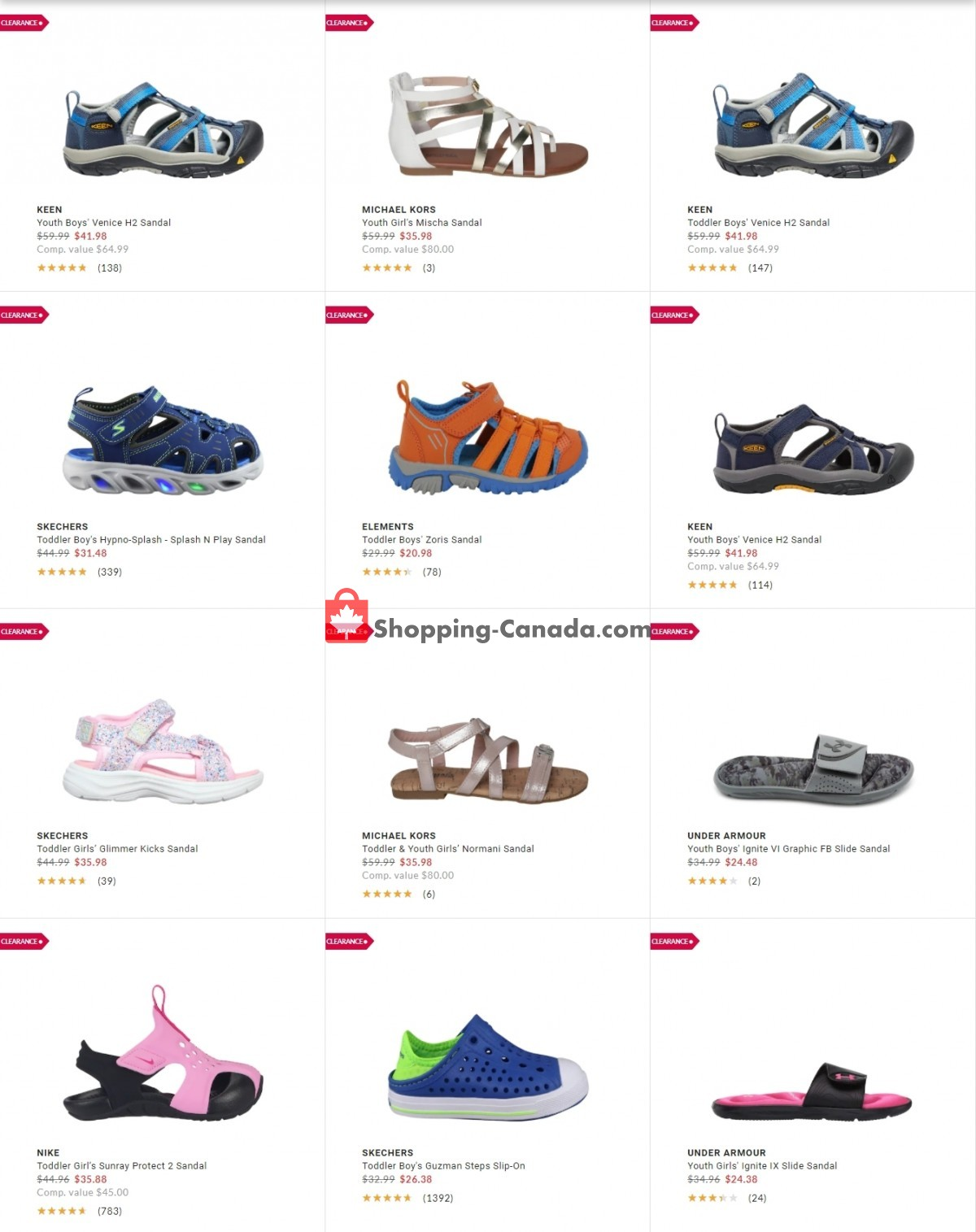 Flyer DSW Designer Shoe Warehouse Canada - from Tuesday July 20, 2021 to Monday July 26, 2021