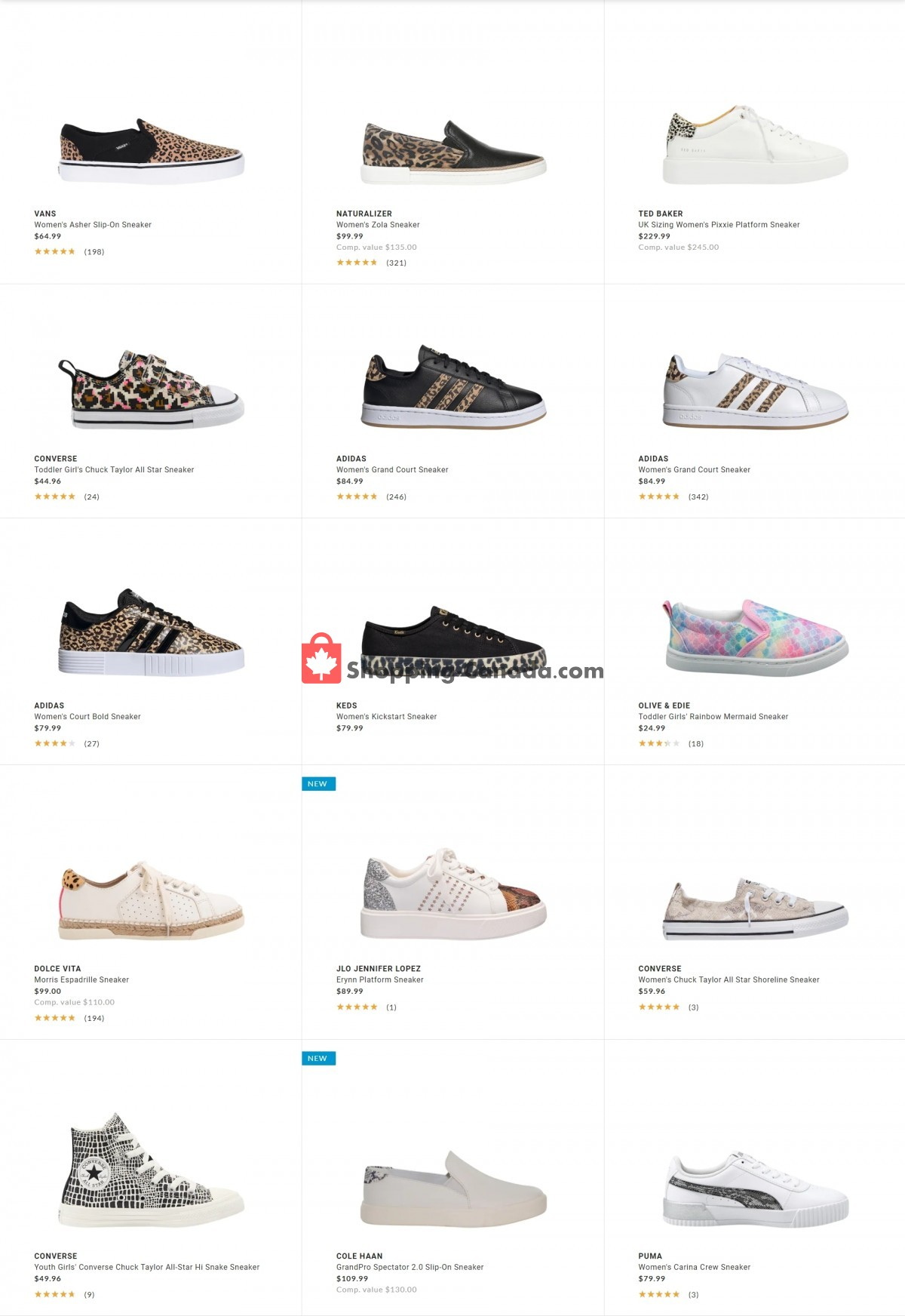 Flyer DSW Designer Shoe Warehouse Canada - from Tuesday May 4, 2021 to Monday May 10, 2021