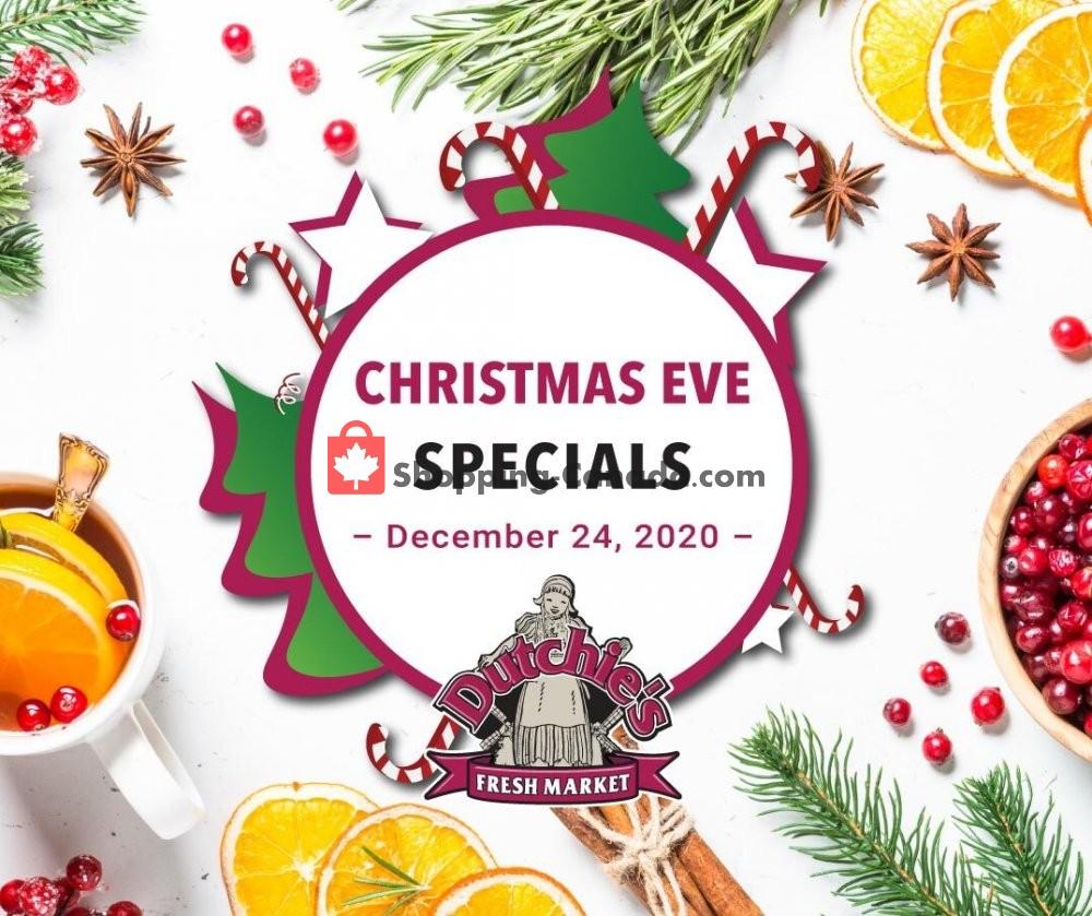 Flyer Dutchie's Fresh Market Canada - from Thursday December 24, 2020 to Thursday December 24, 2020