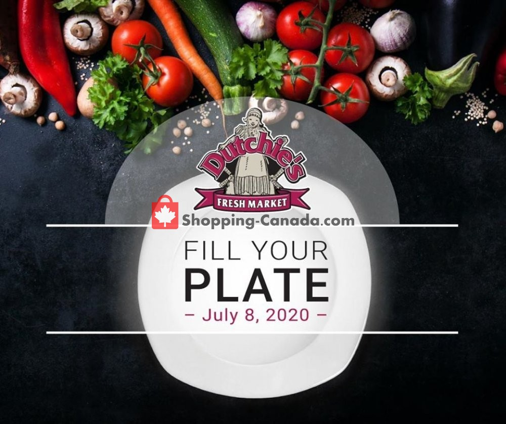 Flyer Dutchie's Fresh Market Canada - from Wednesday July 8, 2020 to Wednesday July 8, 2020